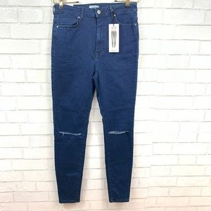 FOREVER 21 NWT HIGH RISE SKINNY JEANS SIZE 28